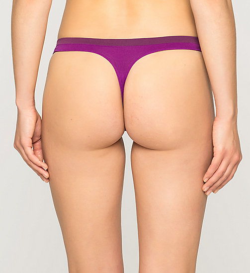 CALVINKLEIN Thong - Pure Seamless - BOLD VIOLET (CONTEMPLATION WB - CALVIN KLEIN Up to 50% - detail image 1