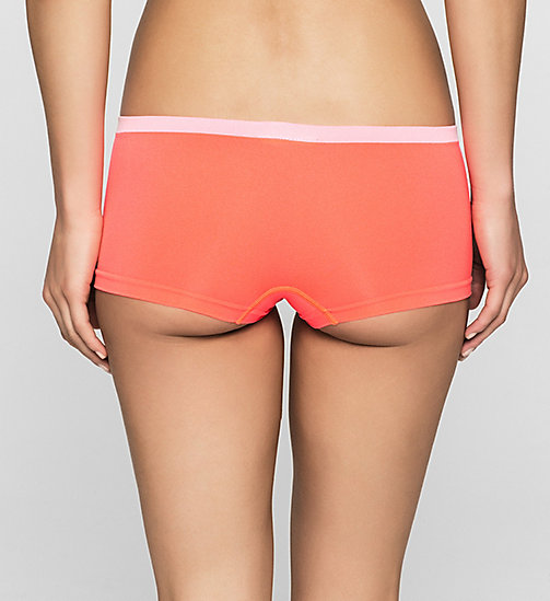 CALVINKLEIN Hipsters - Pure Seamless - BRIGHT NECTAR (WHITE WB) - CALVIN KLEIN HIPSTER PANTIES - detail image 1