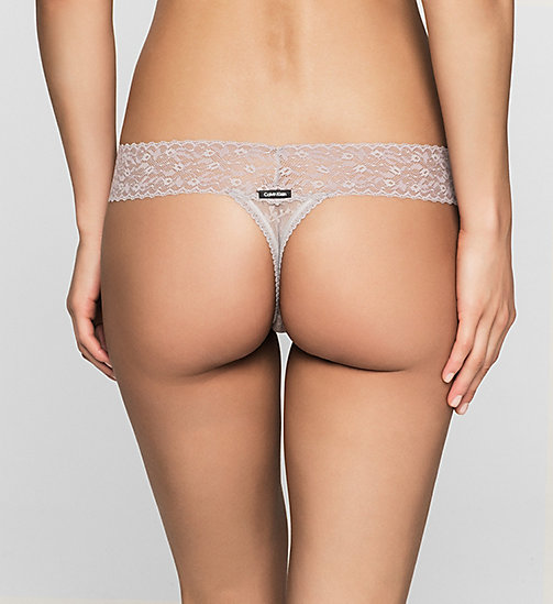 CALVINKLEIN Thong - Bare Lace - WATERSTONE - CALVIN KLEIN PANTIES PROMOTION - detail image 1