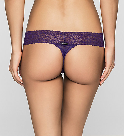 CALVINKLEIN String - Bare Lace - SALVIA - CALVIN KLEIN 3 SLIPS VOOR €40 - detail image 1