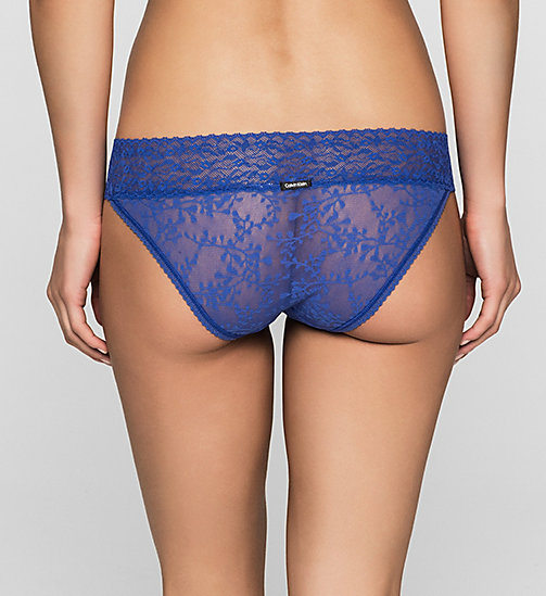 CALVINKLEIN Bikini - Bare Lace - BLUE ECHO - CALVIN KLEIN Up to 50% - detail image 1