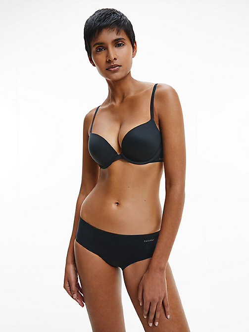 CALVINKLEIN Soutien-gorge push-up - Perfectly Fit - BLACK - CALVIN KLEIN SOUTIENS-GORGE PUSH-UP - image détaillée 1