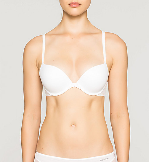 CALVINKLEIN Push-Up Bra - Perfectly Fit - WHITE - CALVIN KLEIN PUSH-UP BRAS - main image