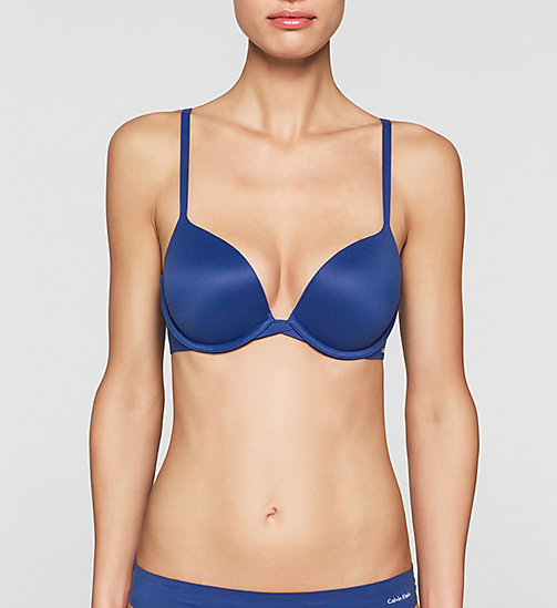 CALVINKLEIN Push-Up Bra - Perfectly Fit - DARK MIDNIGHT - CALVIN KLEIN PUSH-UP BRAS - main image