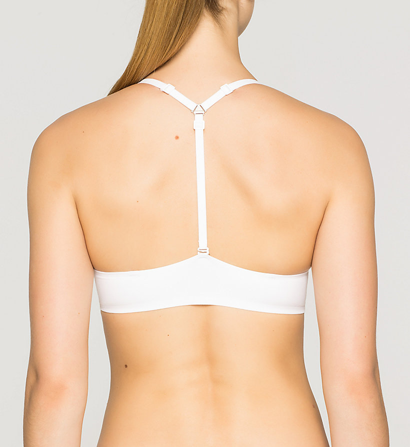 CALVINKLEIN Multiway Bra - Perfectly Fit - WHITE - CALVIN KLEIN UNDERWEAR - detail image 1