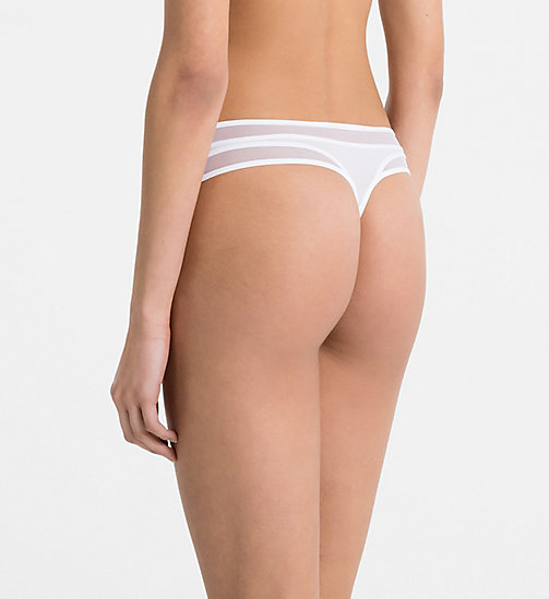 CALVINKLEIN String - Naked Touch - WHITE - CALVIN KLEIN STRINGS - main image 1