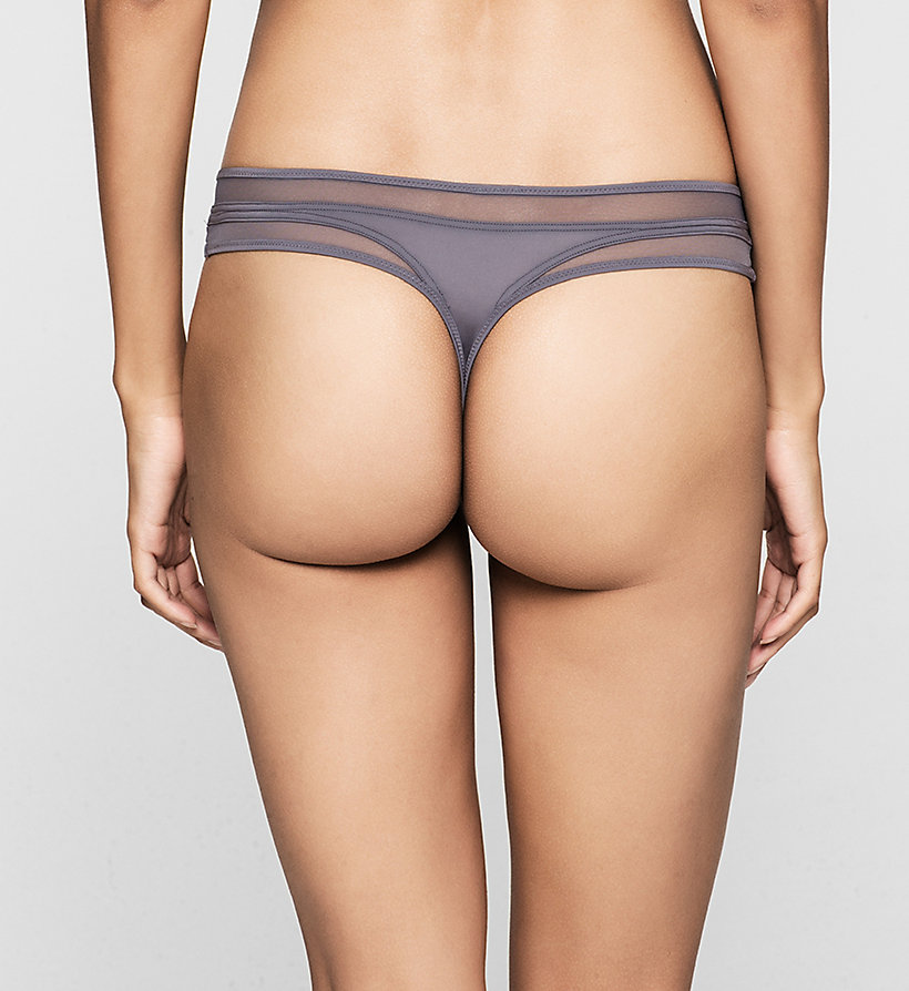 CALVINKLEIN Thong - Naked Touch - INTERLUDE - CALVIN KLEIN WOMEN - detail image 1