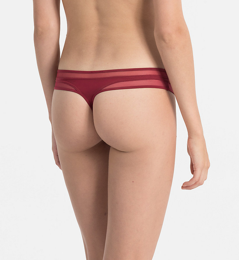 CALVINKLEIN Thong - Naked Touch - INTOXICATE - CALVIN KLEIN WOMEN - detail image 1
