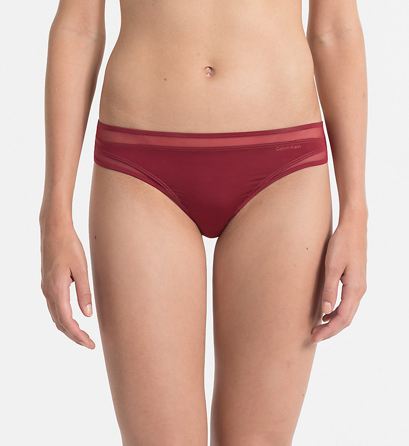 CALVINKLEIN Thong - Naked Touch - INTOXICATE - CALVIN KLEIN WOMEN - main image