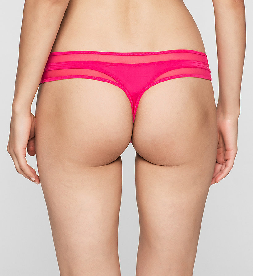 CALVINKLEIN Thong - Naked Touch - ASTONISH - CALVIN KLEIN UNDERWEAR - detail image 1