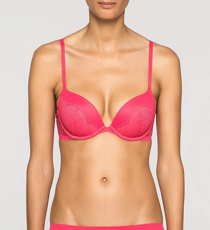 CALVINKLEIN Push-Up Bra - Perfectly Fit - SULTRY - CALVIN KLEIN UNDERWEAR - main image