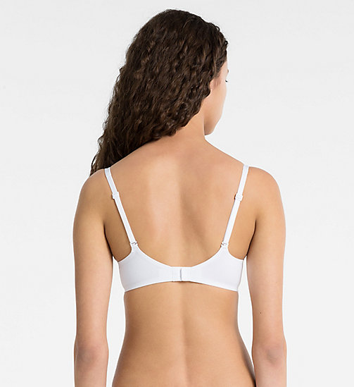 CALVINKLEIN Push-Up Bra - Naked Touch - WHITE - CALVIN KLEIN  - detail image 1