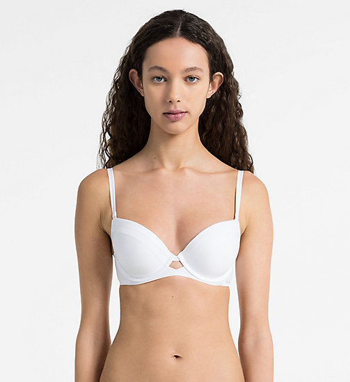 CALVINKLEIN Push-Up Bra - Naked Touch - WHITE - CALVIN KLEIN PUSH-UP BRAS - main image