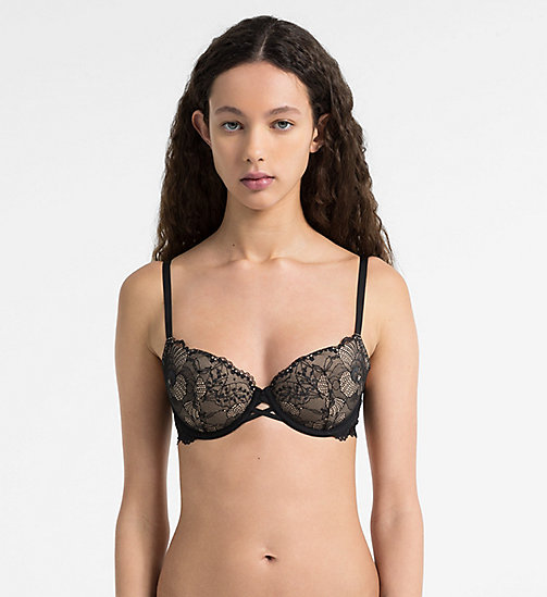 CALVINKLEIN Push-Up Bra - CK Black - BLACK - CALVIN KLEIN PUSH-UP BRAS - main image