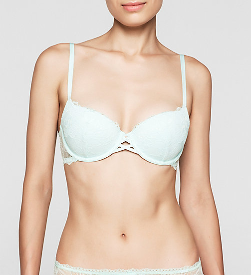 CALVINKLEIN Push-Up Bra - CK Black - SALT LAKE - CALVIN KLEIN PUSH-UP BRAS - main image