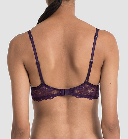 CALVINKLEIN Push-Up Bra - CK Black - PLUM ORBIT - CALVIN KLEIN WOMEN - detail image 1