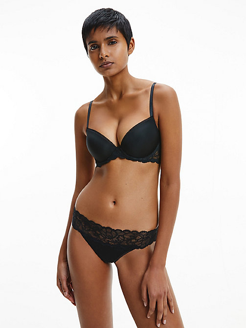 CALVINKLEIN String - Seductive Comfort - BLACK - CALVIN KLEIN SHOP BY SET - main image 1