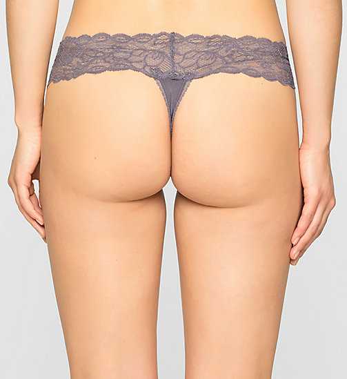 CALVINKLEIN Thong - Seductive Comfort - INTERLUDE - CALVIN KLEIN Up to 50% - detail image 1