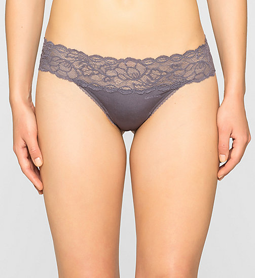CALVINKLEIN Thong - Seductive Comfort - INTERLUDE - CALVIN KLEIN Up to 50% - main image