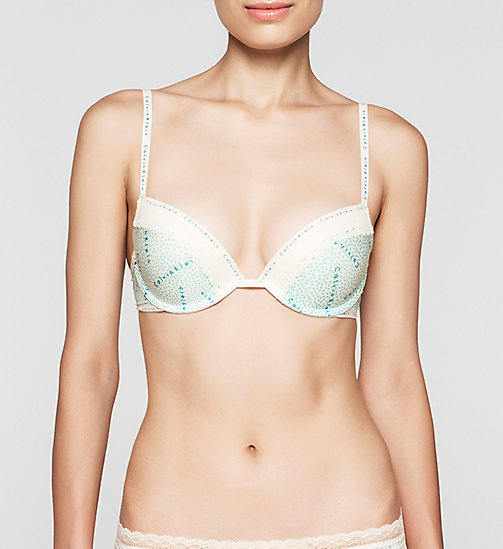 CALVINKLEIN Push-Up Bra - Signature - LOGO MIX - CALVIN KLEIN PUSH-UP BRAS - main image
