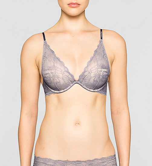 CALVINKLEIN Plunge Bra - Seductive Comfort - INTERLUDE - CALVIN KLEIN Up to 50% - main image