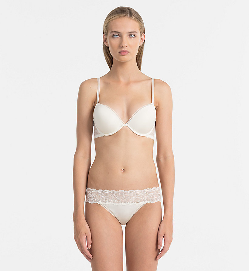 CALVINKLEIN Add-a-Cup Push-Up Bra - Seductive Comfort - IVORY - CALVIN KLEIN WOMEN - detail image 1
