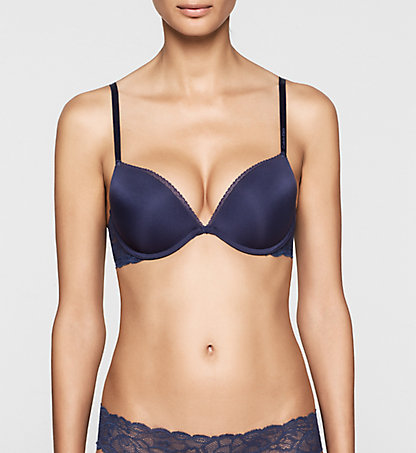 CALVIN KLEIN Add-a-Cup Push-Up Bra - Seductive Comfort 000QF1446ECL0