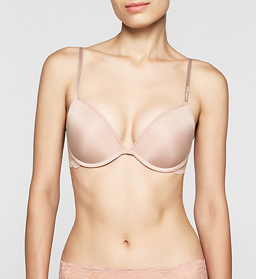 CALVINKLEIN Add-a-Cup Push-Up Bra - Seductive Comfort - PEGMATITE - CALVIN KLEIN PUSH-UP BRAS - main image