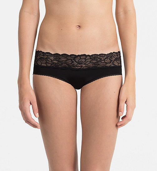 CALVINKLEIN Hipster - Seductive Comfort - BLACK - CALVIN KLEIN HIPSTERS - main image