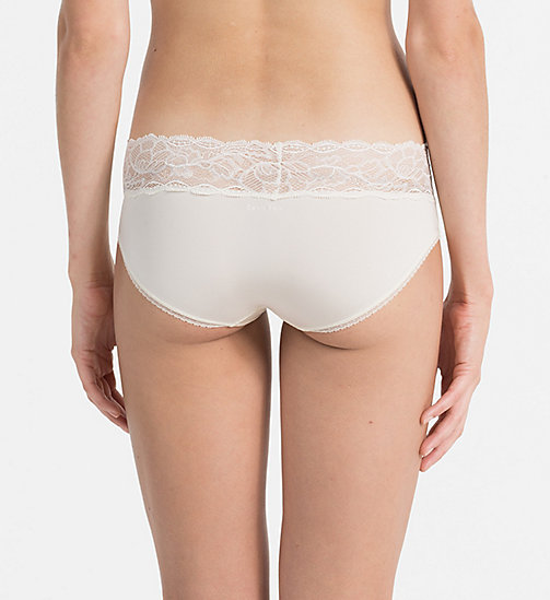 CALVINKLEIN Hipsters - Seductive Comfort - IVORY - CALVIN KLEIN WOMEN - detail image 1