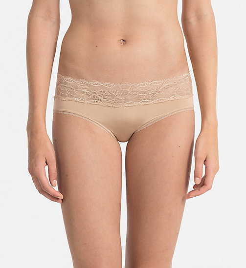 CALVINKLEIN Hipsters - Seductive Comfort - BARE - CALVIN KLEIN HIPSTER PANTIES - main image