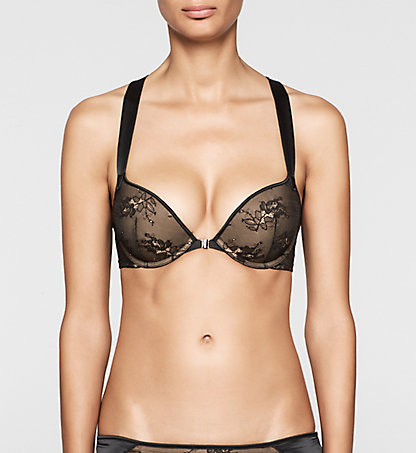 CALVIN KLEIN Push-Up Bra - CK Black 000QF1615E001
