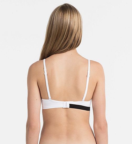 CALVINKLEIN Multiway Bra - Seamless - WHITE (BLACK LOGO) - CALVIN KLEIN SHOP BY SET - detail image 1