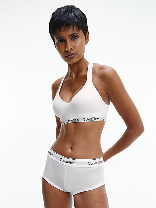 CALVINKLEIN Bustier - Modern Cotton - WHITE - CALVIN KLEIN SHOP BY SET - main image 1