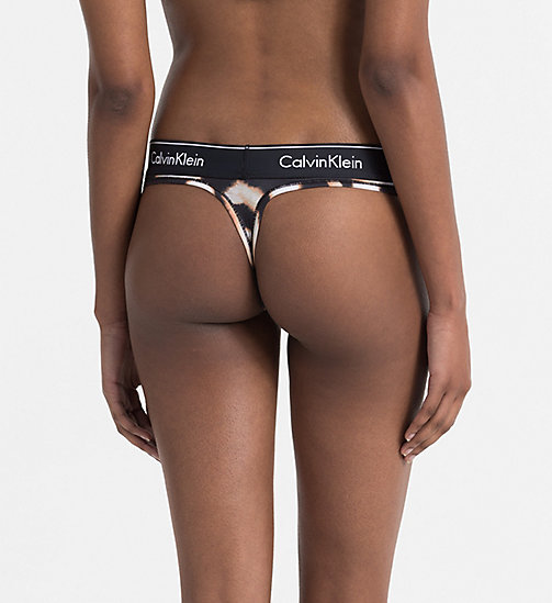 CALVINKLEIN String - Modern Cotton - WATERCOLOR ANIMAL_BLEACH OUT - CALVIN KLEIN STRINGS - main image 1
