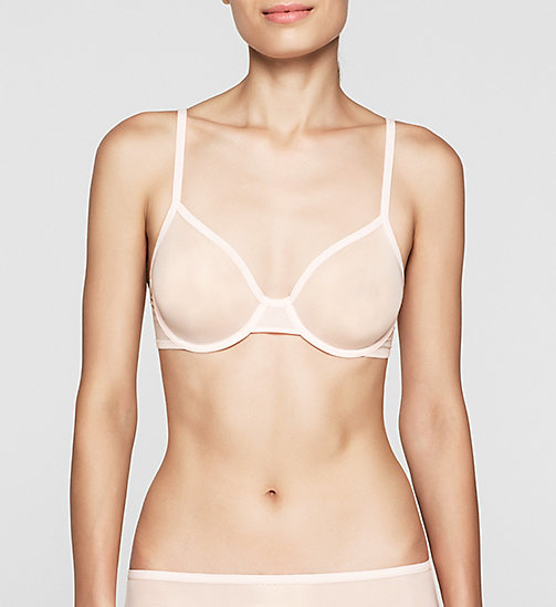 CALVINKLEIN Demi Bra - Sheer Marquisette - NYMPTHS THIGH - CALVIN KLEIN Up to 50% - main image