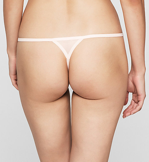 CALVINKLEIN Thong - Sheer Marquisette - NYMPTHS THIGH - CALVIN KLEIN Up to 50% - detail image 1