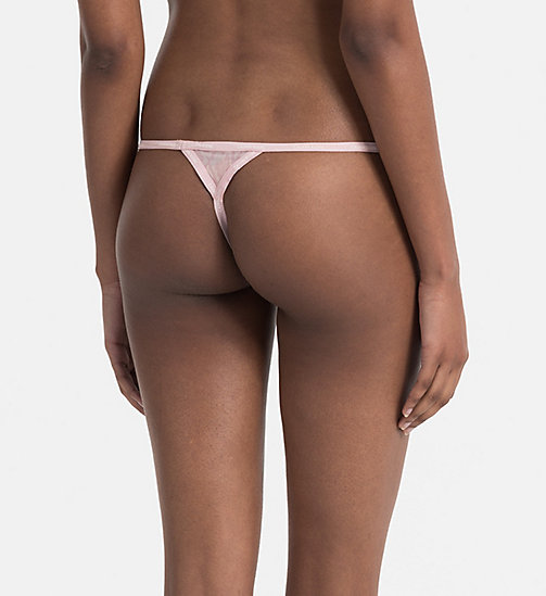 CALVINKLEIN String - Sheer Marquisette - SNAKESKIN OUTLINE_CONNECTED - CALVIN KLEIN STRINGS - main image 1