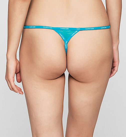 CALVINKLEIN Thong - Sheer Marquisette - PERPETUA - CALVIN KLEIN Up to 50% - detail image 1