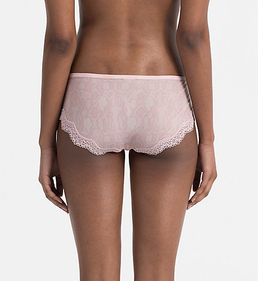 CALVINKLEIN Hipsters - Sheer Marquisette - SNAKESKIN OUTLINE_CONNECTED - CALVIN KLEIN HIPSTER PANTIES - detail image 1