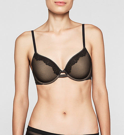CALVINKLEIN T-shirt Bra - Perfectly Fit - BLACK - CALVIN KLEIN  - main image