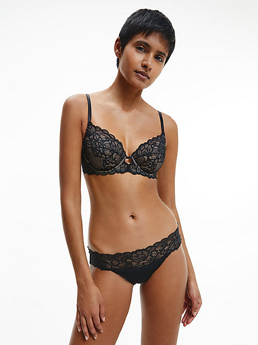 CALVINKLEIN Multiway Bra - Seductive Comfort - BLACK - CALVIN KLEIN SHOP BY SET - detail image 1