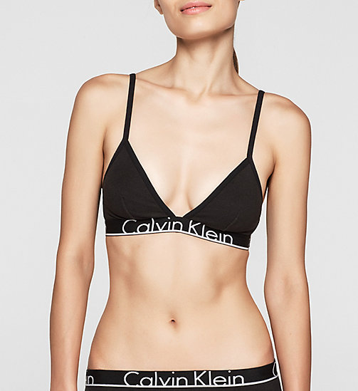 CALVINKLEIN Triangle Bra - Calvin Klein ID - BLACK - CALVIN KLEIN Up to 50% - main image