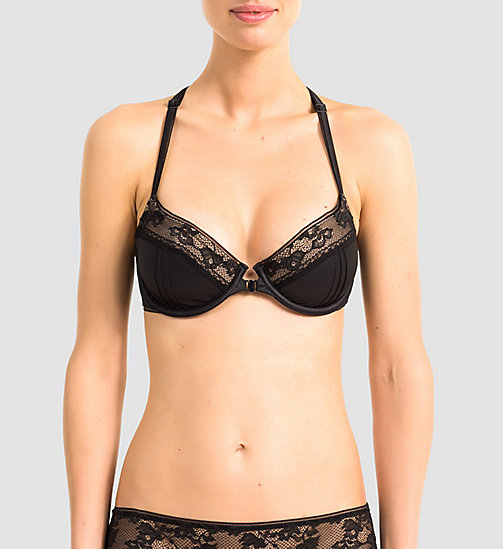 CALVINKLEIN Push-Up Bra - CK Black Devotion - BLACK - CALVIN KLEIN  - main image