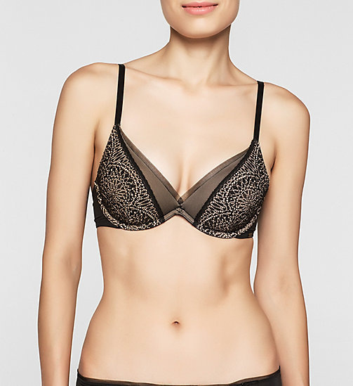 CALVINKLEIN Push-Up Bra - CK Black Endless - BLACK - CALVIN KLEIN PUSH-UP BRAS - main image