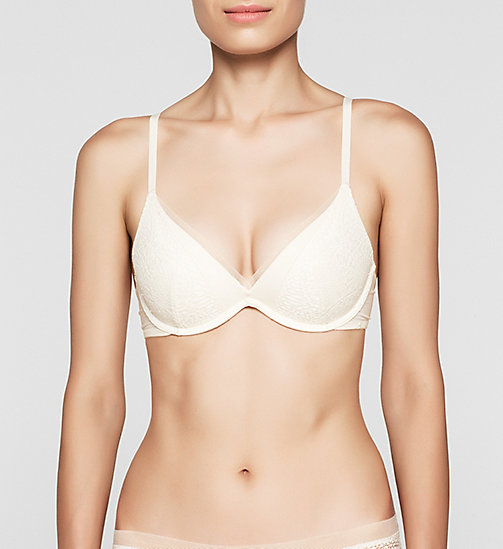 CALVINKLEIN Push-up beha - CK Black Endless - IVORY - CALVIN KLEIN PUSH-UP BEHA'S - main image