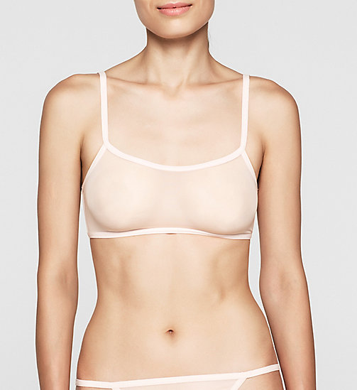 CALVINKLEIN Bralette - Sheer Marquisette - NYMPTHS THIGH - CALVIN KLEIN Up to 50% - main image