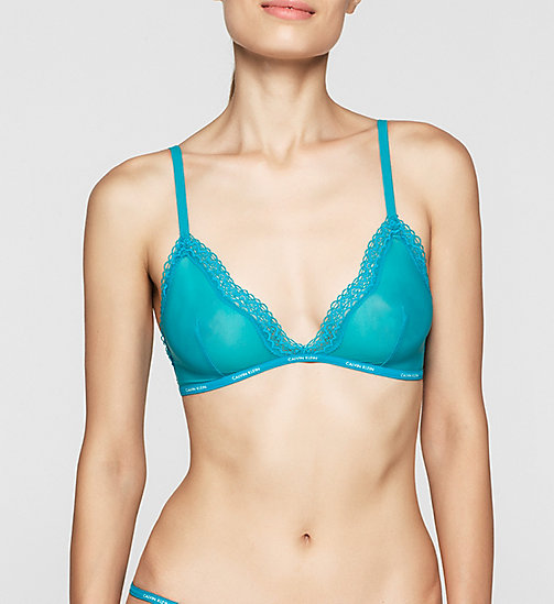 CALVINKLEIN Triangle Bra - Sheer Marquisette - PERPETUA - CALVIN KLEIN Up to 50% - main image