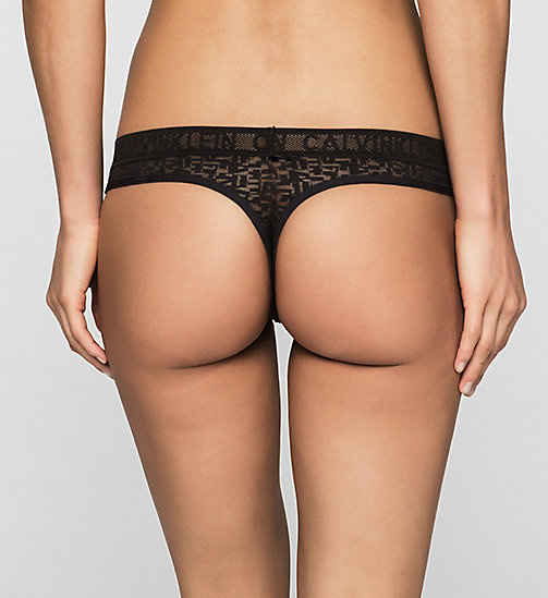 CALVINKLEIN Thong - Radical - BLACK - CALVIN KLEIN Up to 50% - detail image 1