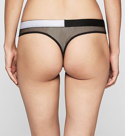 CALVINKLEIN Thong - Calvin Klein ID - BLACK - CALVIN KLEIN Up to 50% - detail image 1